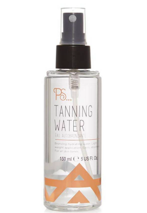 The PS Tanning water gives a lovely even glow