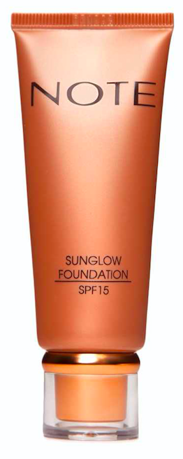 NOTE Cosmetics Sunglow Foundation, €14.95