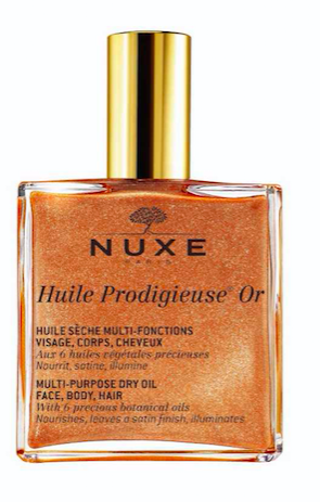 Nuxe Huile Prodigieuse Multi-Usage Dry Oil Golden Shimmer, €33