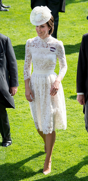 Kate Middletons Ascot Outfit Looks Very Like A Wedding Dress