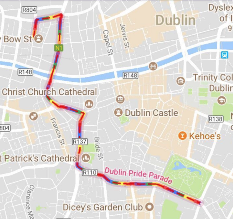 Maps Dublin.Google Maps Has Done Something Very Cool To Celebrate Pride Her Ie