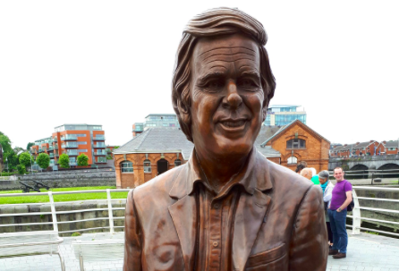 Limerick honours Wogan with statue