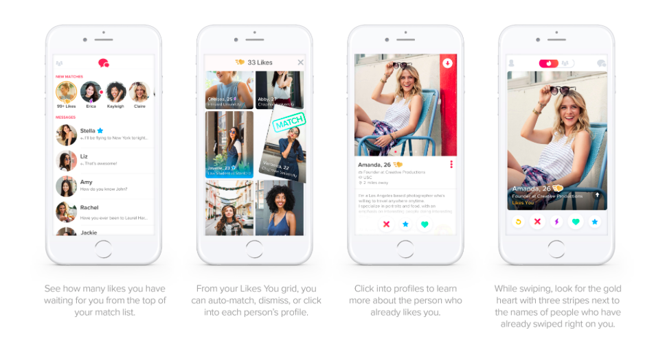 Tinder's New Subscription 'Tinder Gold' Will Show Your Likes Before Swiping