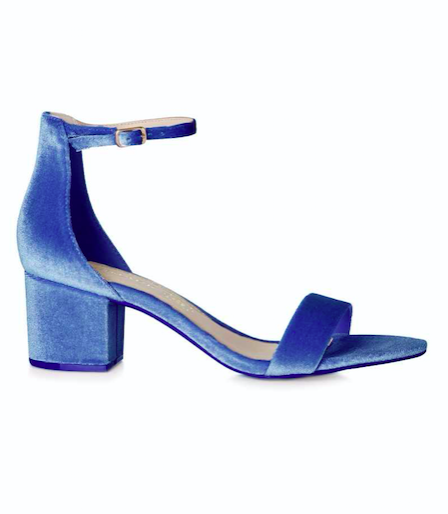 Penneys velvet shoe