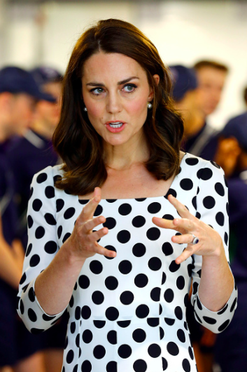 Kate Middleton has chopped her hair