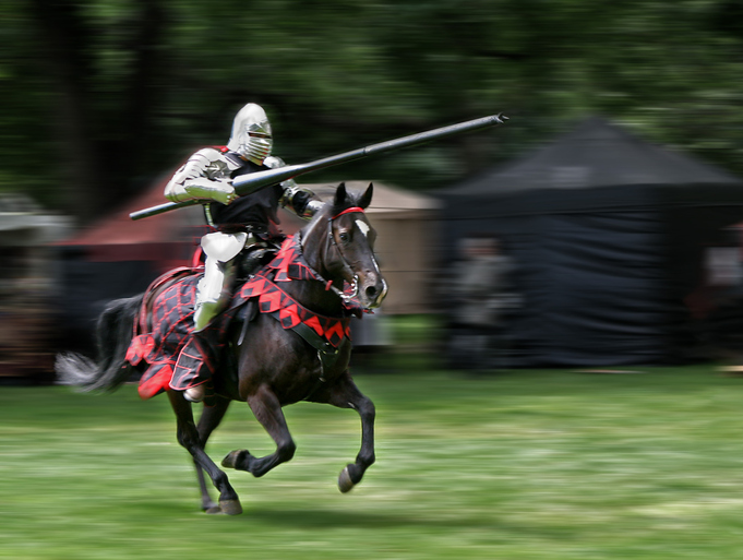 jousting could help your fitness regime