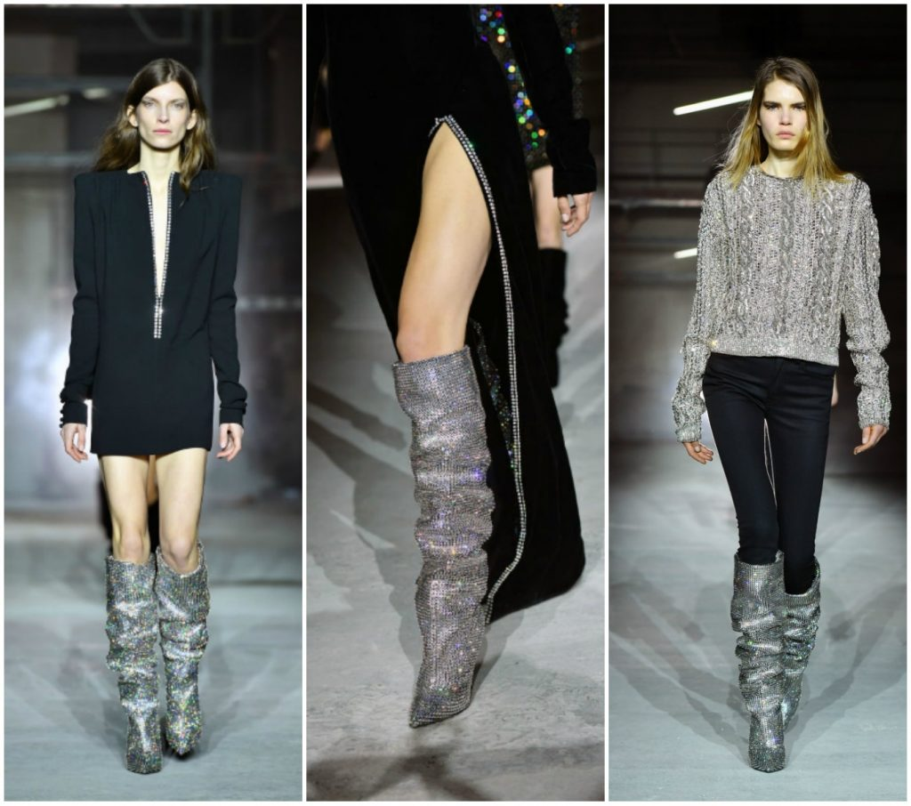 Rihanna-approved YSL boots