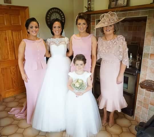 Irish bridesmaids