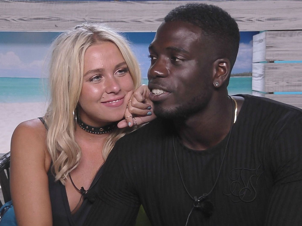 Love Island's Marcel and Gabby hit the rocks