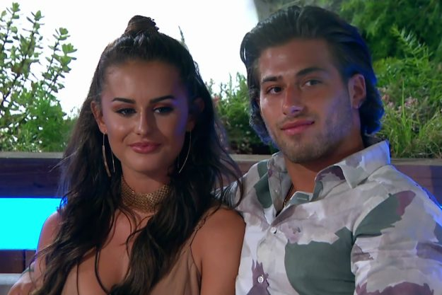 Love Island couple in pregnancy scare