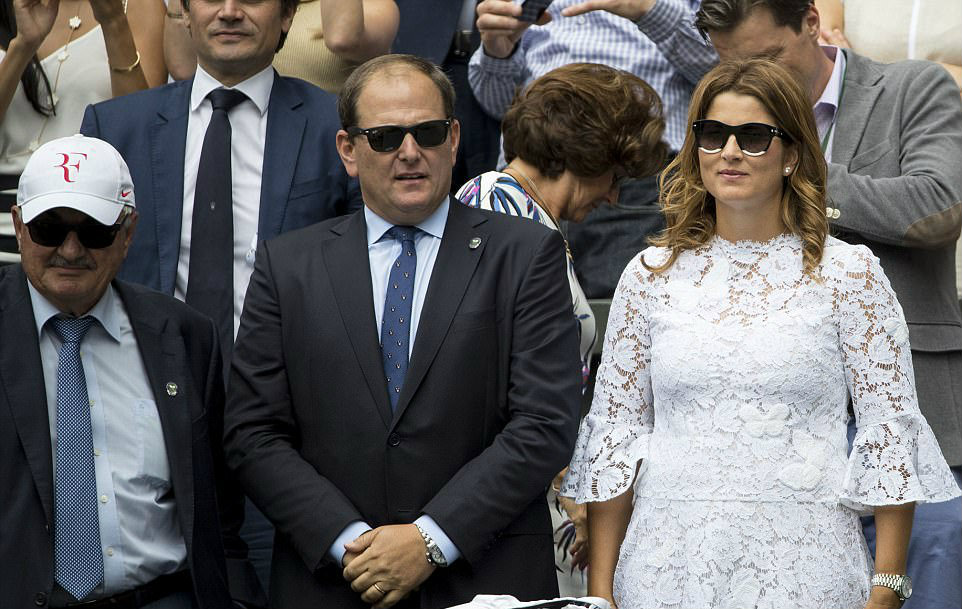 Mirka Federer Brings All Four Kids To Wimbledon And She Wears White Herfamily Ie