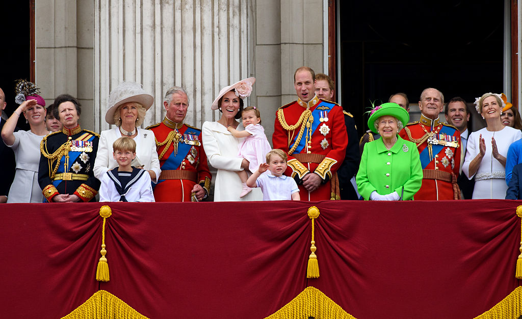 A royal family portrait released on Prince Charles birthday today