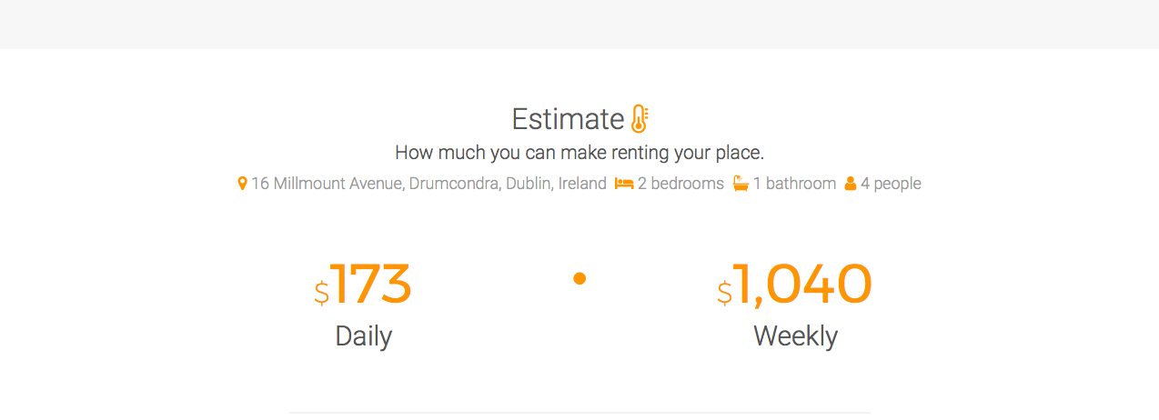 This calculator will tell you how much you can rent your