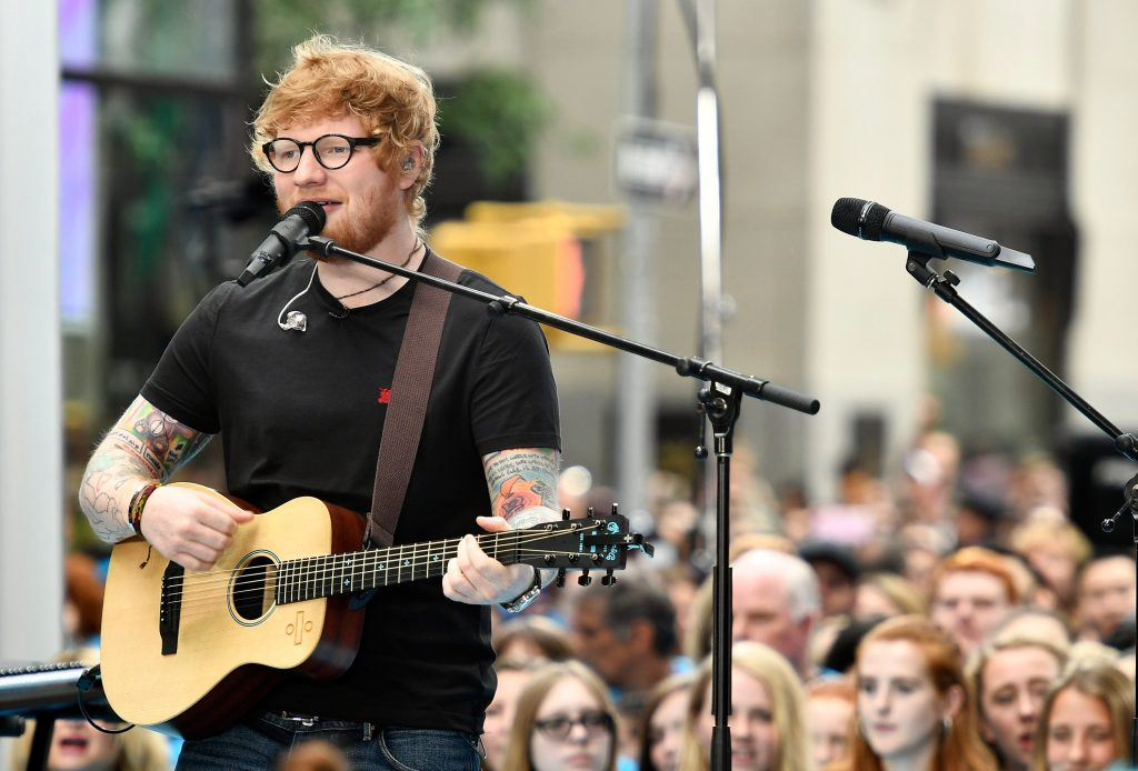 Ed Sheeran denies he's building railing outside home