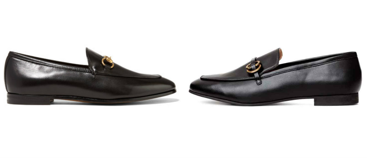 1dd4604a76d Everyone is going mad for these €23 Gucci-inspired loafers from H M ...