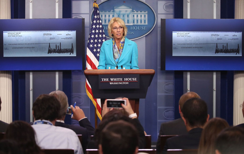 DeVos Vows to Revamp Obama-era School Sexual Assault Policy