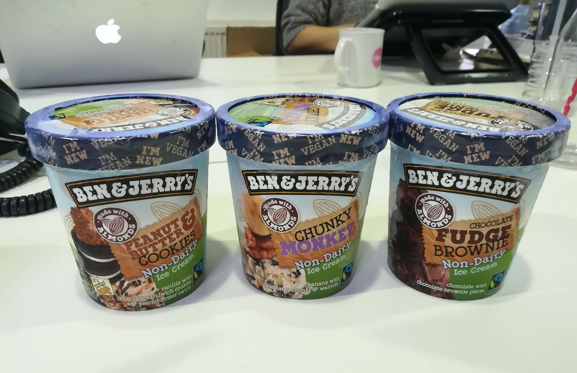 We tried the new Ben \u0026 Jerry\u0027s vegan ice creams | Her.ie