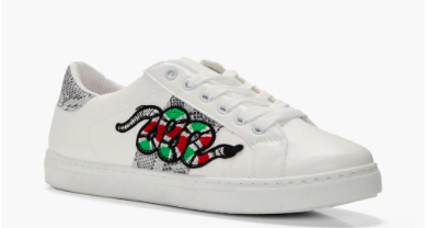 6c280de3359e62 Boohoo is selling Gucci dupe trainers and they are a steal