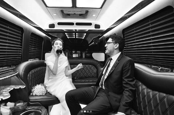 Emmy Rossum Wedding.Emmy Rossum Shares Stunning Never Before Seen Wedding Pics Her Ie