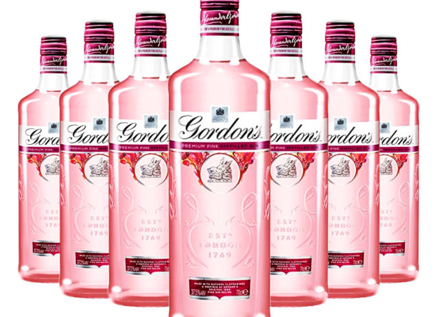 Image result for gordons pink gin