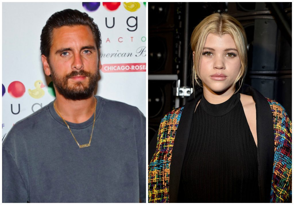 Scott Disick And Sofia Richie Kiss In Steamy Snapchat