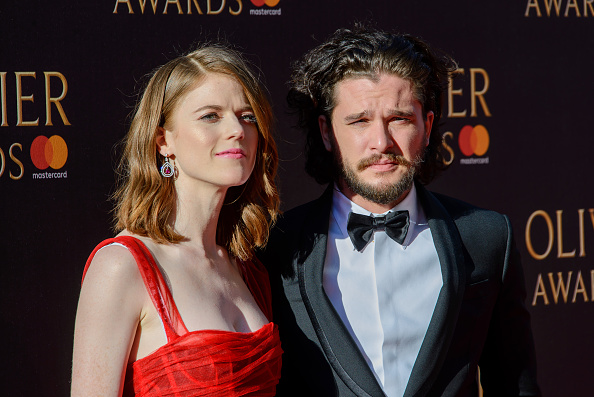 'Game Of Thrones' Stars Kit Harington And Rosie Leslie Are Engaged