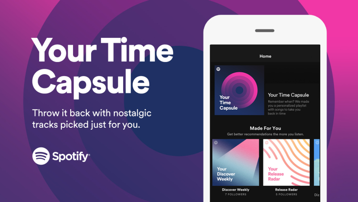 Spotify's Newest Personalized Playlist Takes You Back To Your Teenage Years