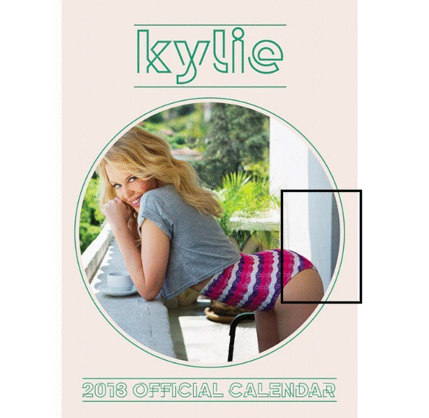Kylie Minogue caught in photoshop fail