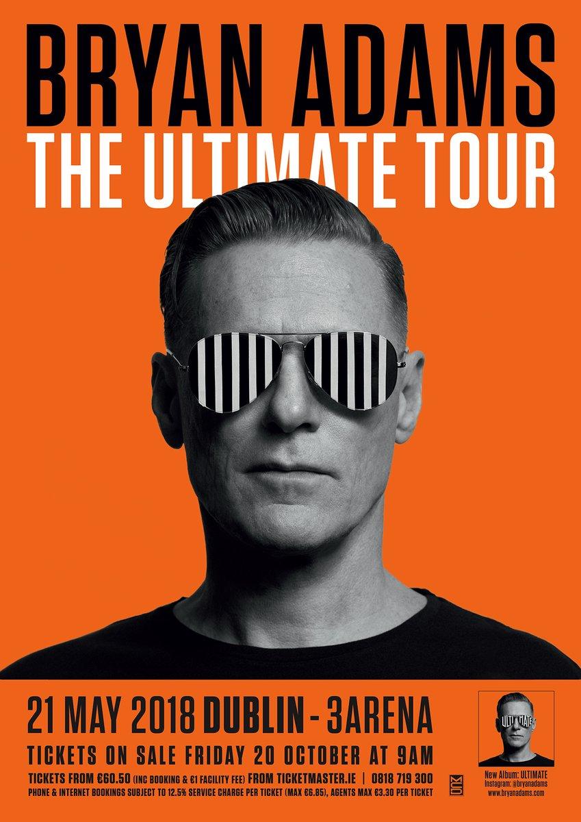 ae2973751602 Bryan Adams has just announced an Irish tour date   Her.ie