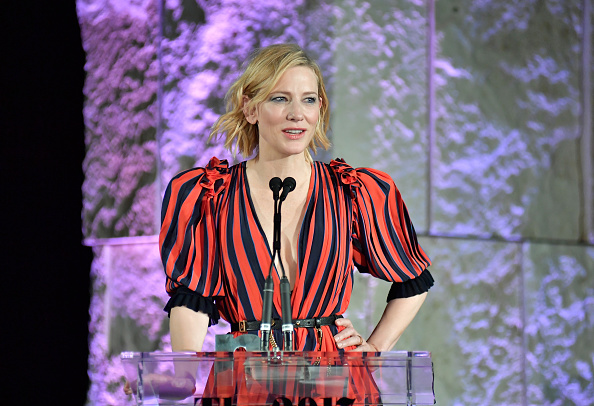 Cate Blanchett Slams Steve Bannon To Make An Excellent Point About Feminism