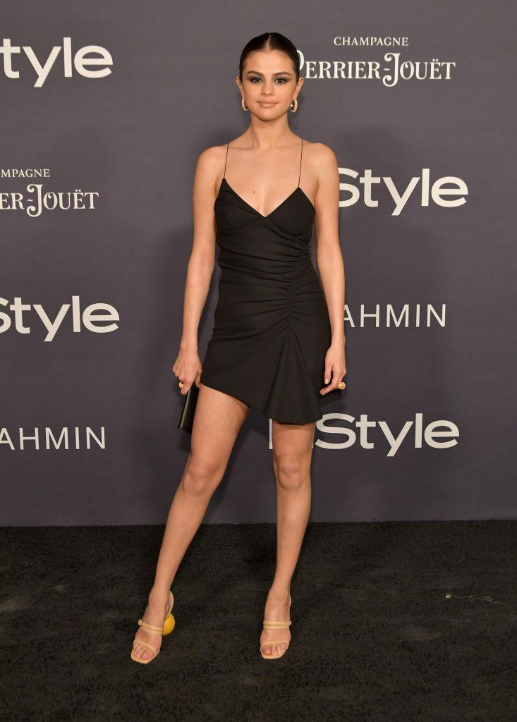 Selena Gomez Wore These Bizarre Ball High Heels And We