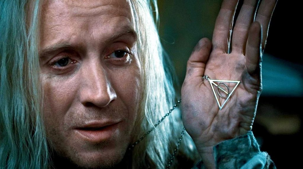 Jk rowling reveals the meaning behind that symbol in harry for Harry potter and the deathly hallows wand