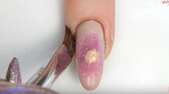 Say Hello To Pimple Popping Nail Art