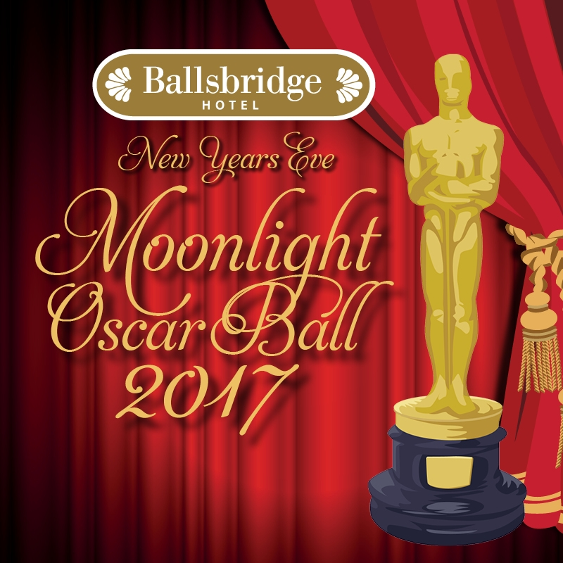 Win 4 tickets to Ballsbridge Hotel's Oscars New Year's Eve Party