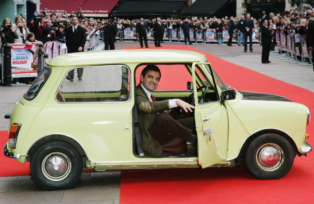 Mr Bean's baby: Rowan Atkinson will be a father for the third time at the age of 62 with partner Louise Ford, 33