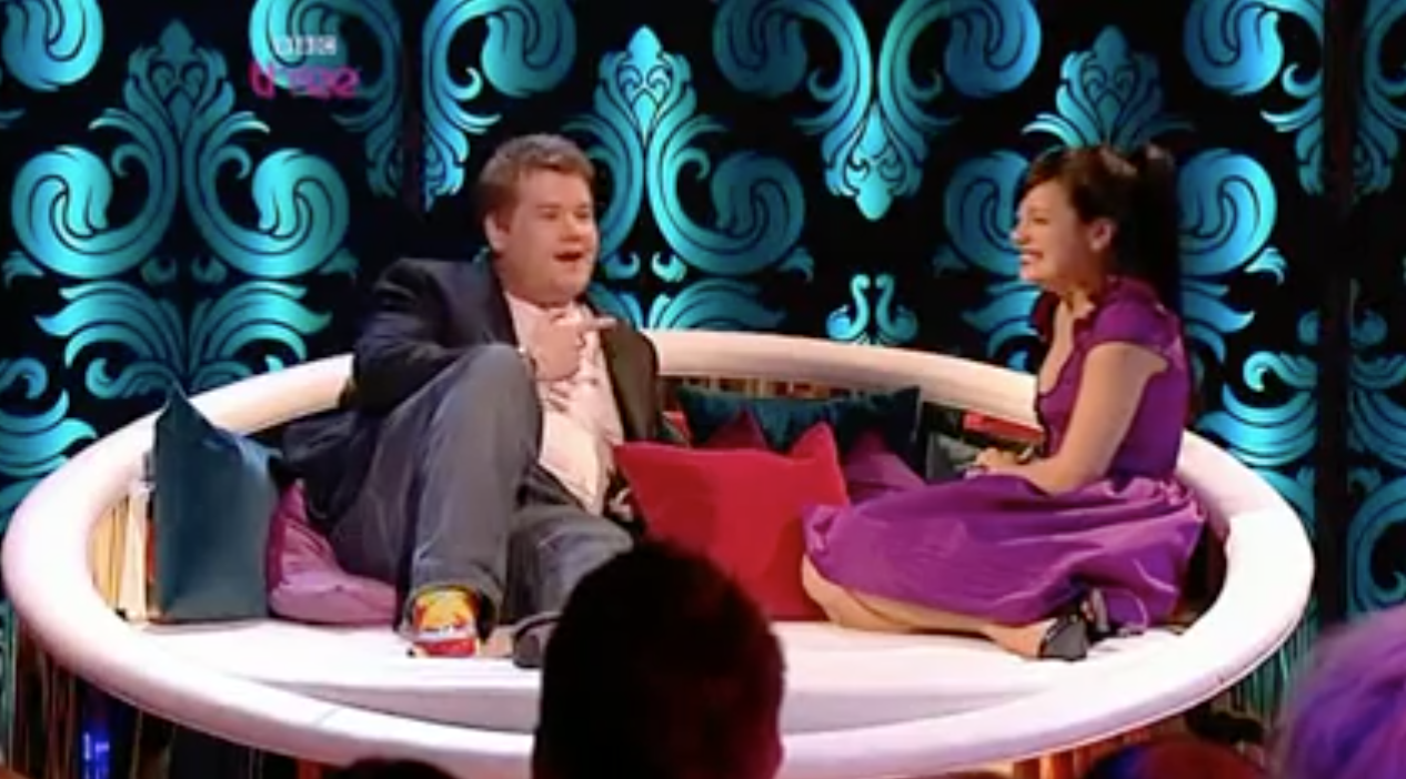 Lily Allen claims James Corden 'came on to her' during TV interview