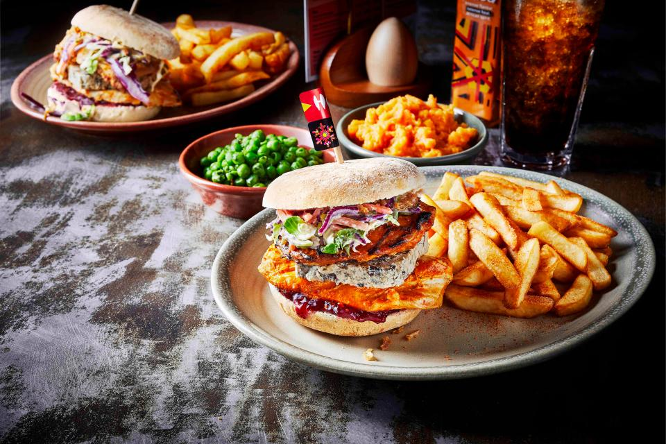 Nandos Launch A Christmas Burger In Irish Stores