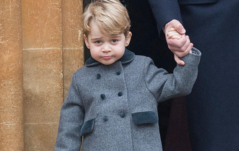 Prince George asks Santa for police vehicle at Christmas