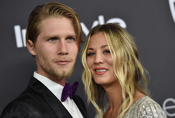 Kaley Cuoco cries and shows off diamond ring in proposal video