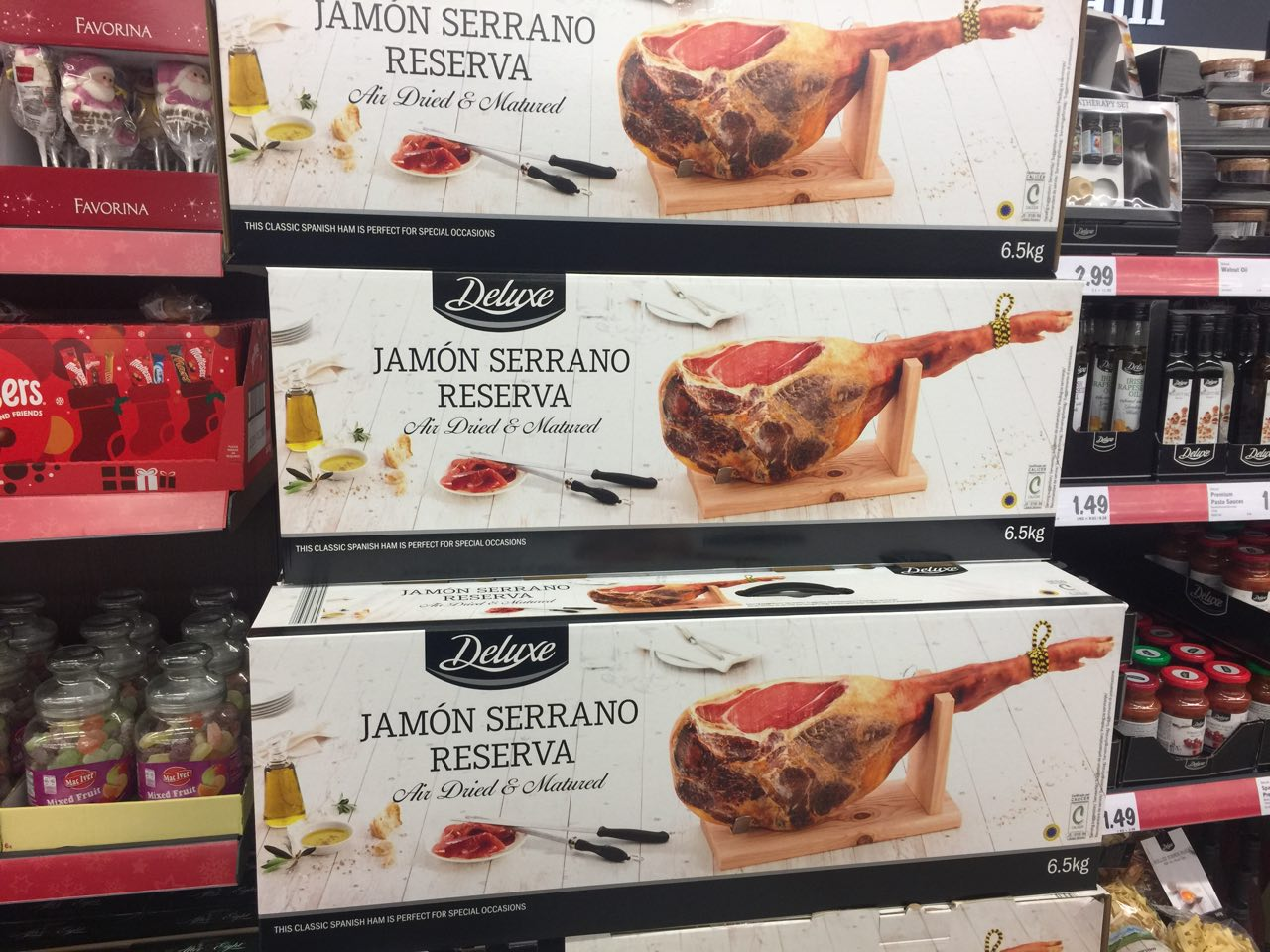 lidl is selling an entire serrano ham and we 39 re fully. Black Bedroom Furniture Sets. Home Design Ideas