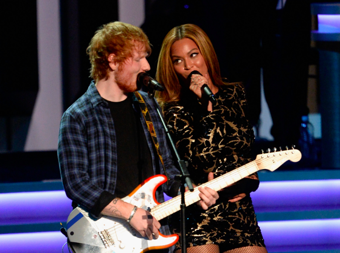 Ed Sheeran says Beyoncé changes her email every week