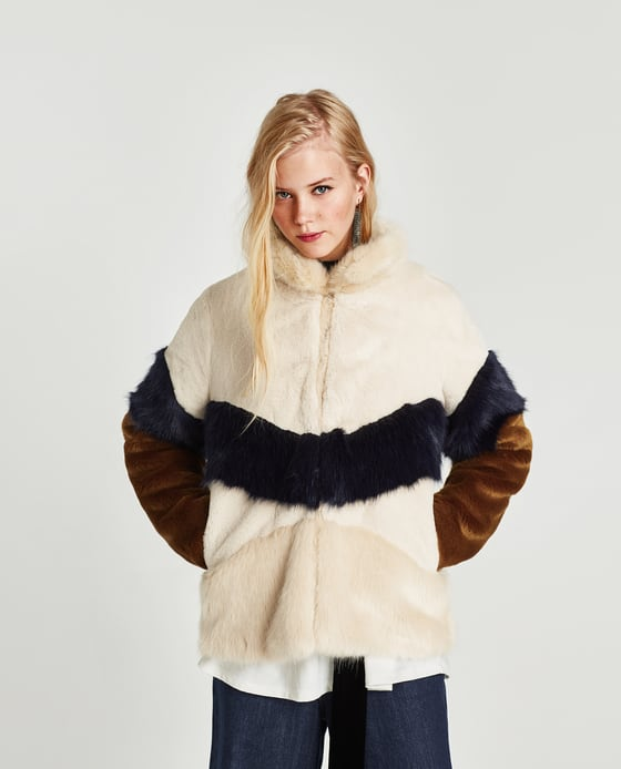 ad32cc582f People are obsessed with this faux fur Zara jacket and we can see ...