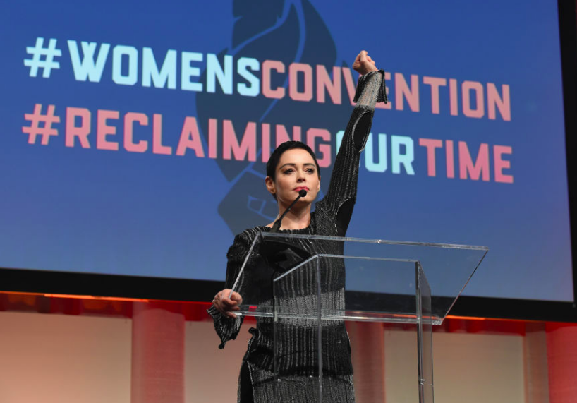Rose McGowan brands Meryl Streep a hypocrite over Golden Globes 'silent protest'