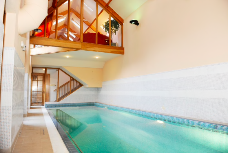 This dublin airbnb has a heated indoor swimming pool and we 39 re sold Swimming pools in dublin city centre