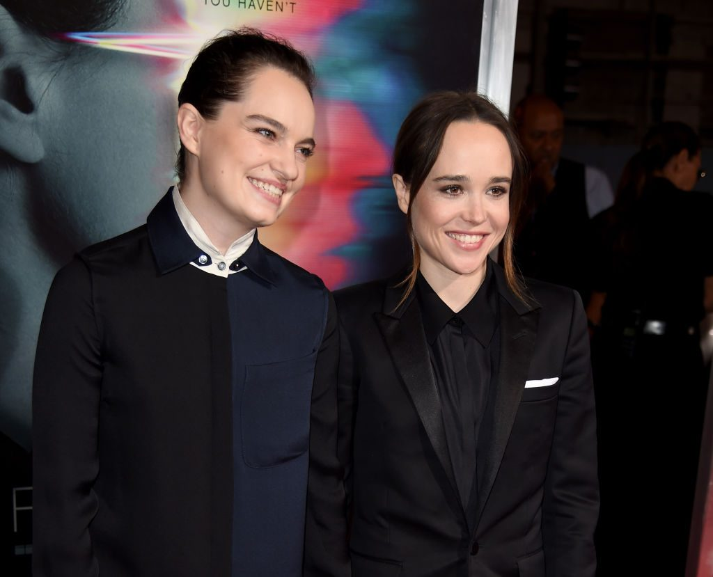 Ellen Page Reveals She's Married to Emma Portner