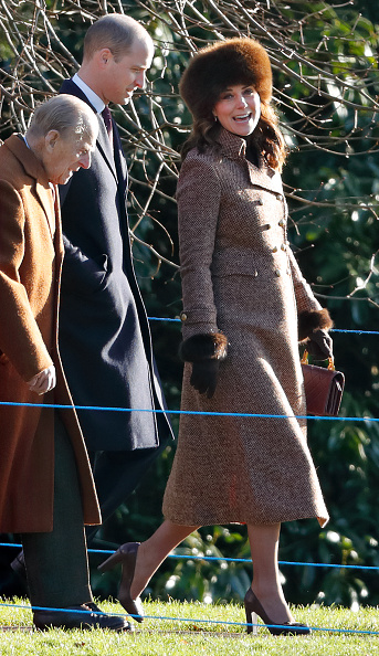 We can't get enough of Duchess Kate's tweed Moloh coat | Her.ie