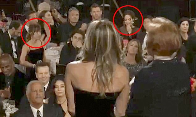 Did Angelina Jolie Diss Jennifer Aniston at the Golden Globes?
