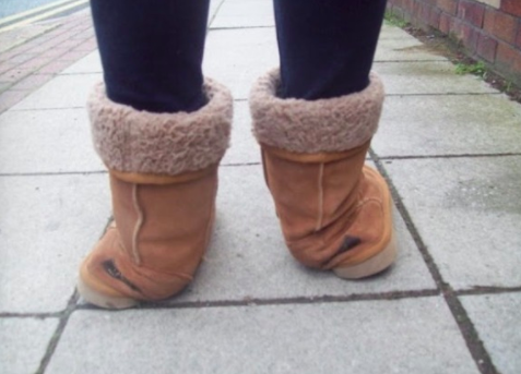 Thigh-high uggs are now a thing