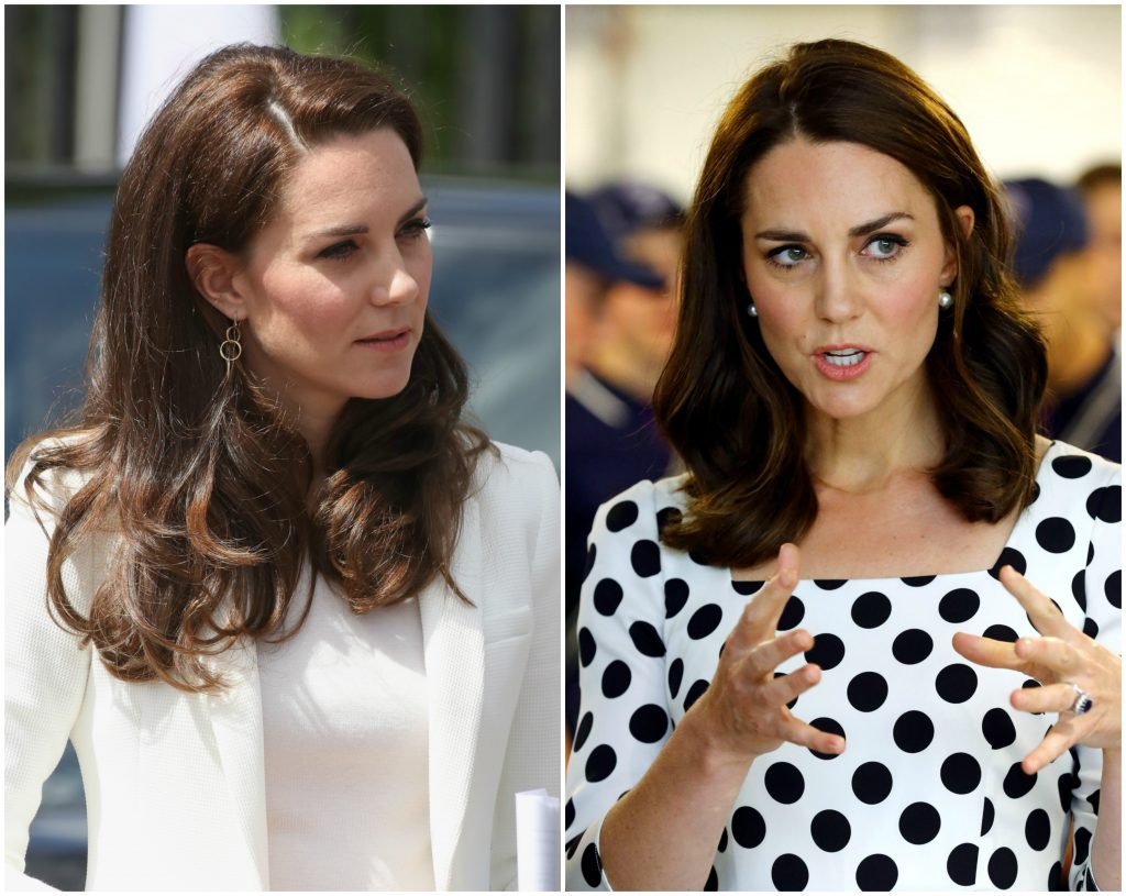 The Duchess Of Cambridge donates her hair to the Little Princess Trust!