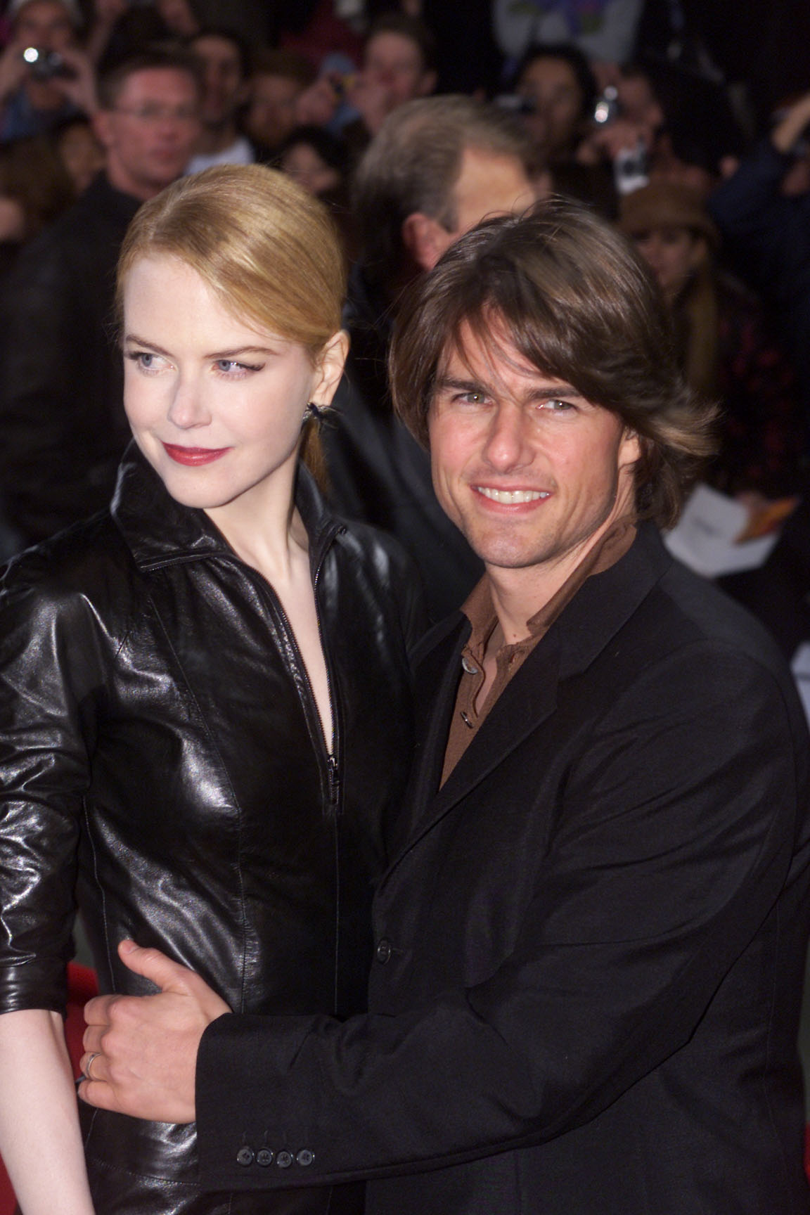 An old photo of Nicole Kidman after confirming divorce from